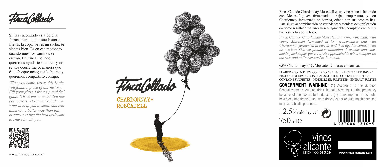 FINCA COLLADO CHARDONNAY + MOSCATELL