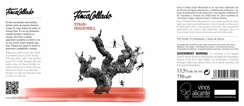 FINCA COLLADO SHIRAH+MONASTRELL